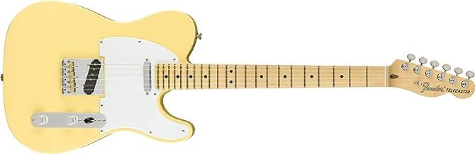 Fender American Performer Telecaster Electric Guitar (Vintage White, Maple Fingerboard)