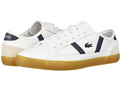 Lacoste Sideline 319 1 (White/Navy) Women
