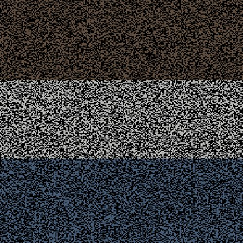 Super Deep Blue White and Brown Noise
