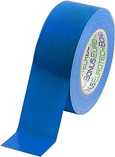 panzerband blau BONUS Eurotech 1BC12.78.0050/050A# Standard Duct Tape, Klebstoff auf Synthetikkautschuk Basis, LDPE Folie eines PET Gewebes, Länge 50 m x Breite 50 mm x Dicke 0,17 mm, Blau