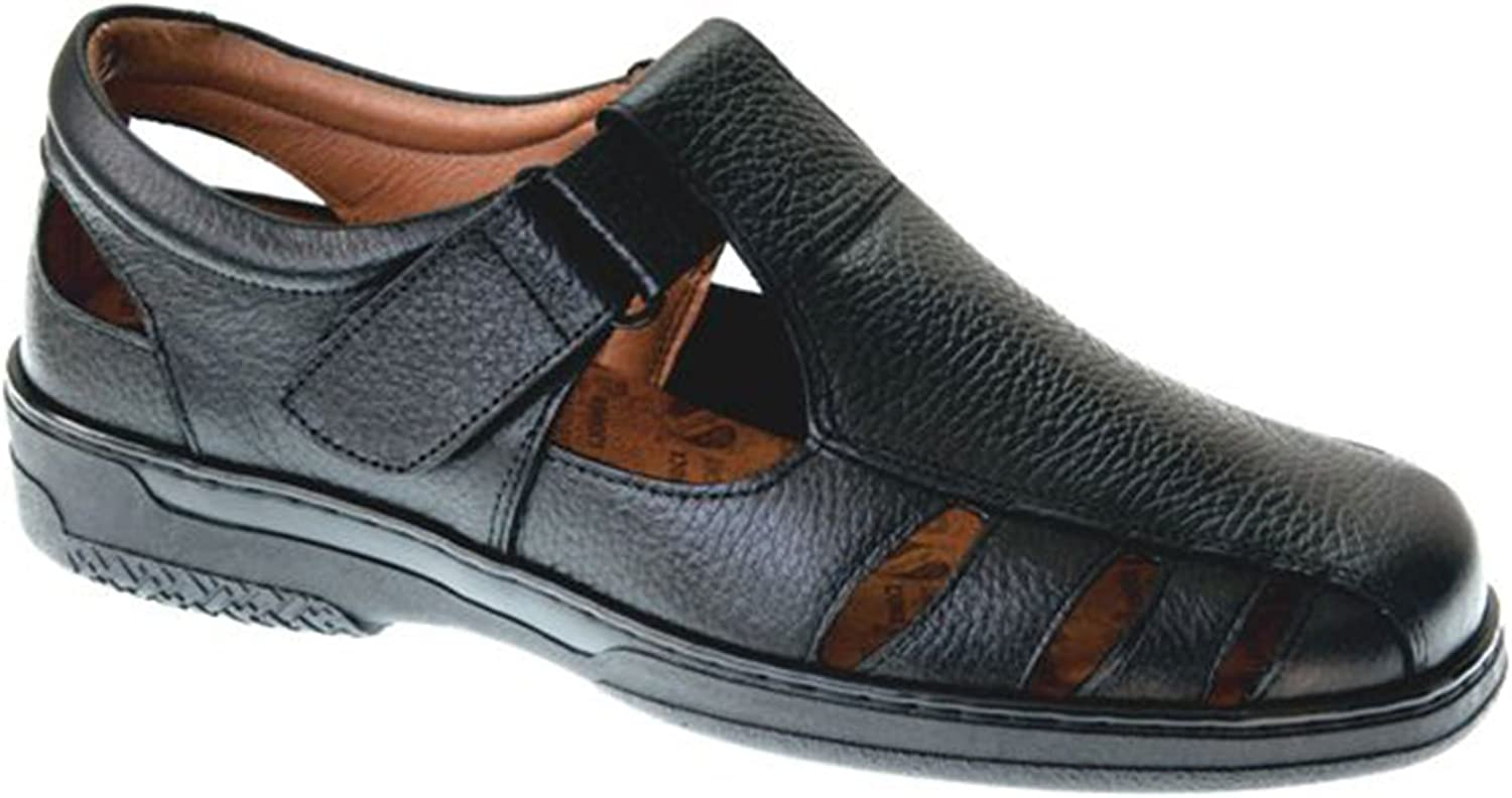 Primocx Special Men's Sandals Diabetics Black