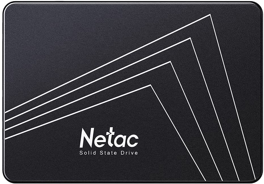 Netac Internal SSD, Disco Duro Estado sólido Interna 500GB, 3D NAND Flash Unidad, 2.5