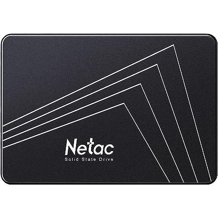 "Netac Internal SSD, Disco Duro Estado sólido Interna 128GB, 3D NAND Flash Unidad, 2.5"" SATAIII 6Gb/s, hasta 510MB/s, para Notebook, Tableta, computadora, PC"