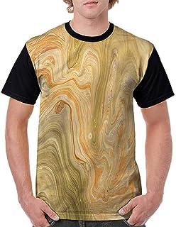 Casual Short Sleeve Graphic Tee Shirts,Wild Caribbean Nature Fashion Personality Customization