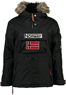 Geographical Norway Parka BOOMERANG hombre NEGRO talla L