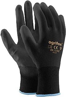 Ogrifox OX-Poliur_Bb9 - Guantes protectores (24 unidades, OX