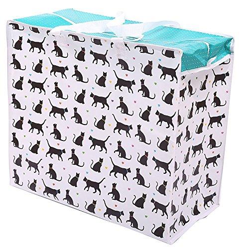 Puckator Cat Design PVC Luggage Tag