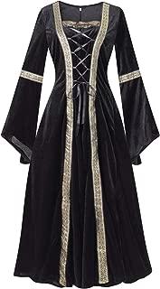 Colorful House Plus Size Medieval Dress, Renaissance Princess Costume for Women