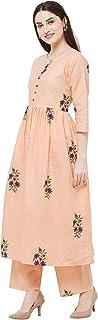 HEER CREATION Trending Women's Cotton Readymade Salwar Suit