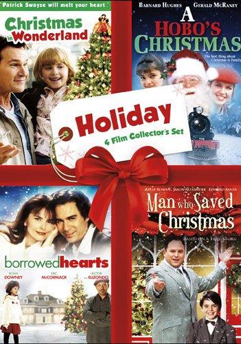 Holiday Four Film Collector's Set (Christmas in Wonderland / A Hobo's Christmas / Borrowed Hearts / The Man Who Saved Christmas)