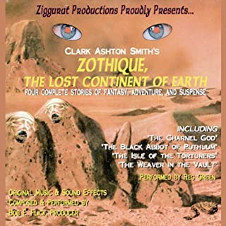 Zothique, The Last Continent of Earth audiobook cover art