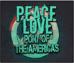 Makoroni - Peace Love Pony of The Americas - Jigsaw Puzzle, 30 pcs.