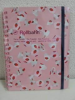 新品 ロルバーン Rollbahn ポケット付メモL イエトモ いちごみるく柄 ピンク 限定