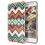NALIA Funda Carcasa Compatible con Samsung Galaxy Grand Prime, Motivo Design Movil Protectora Fina Carcasa Silicona Cubierta, Goma Estuche Telefono Bumper Cover Case, Designs:Indian Pattern