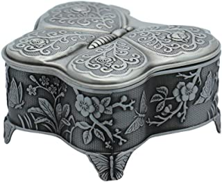 butterfly trinket box engraved