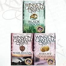 Winston Graham Poldark Series 3 Books Bundle Collection (The Black Moon, Warleggan, Jeremy Poldark)