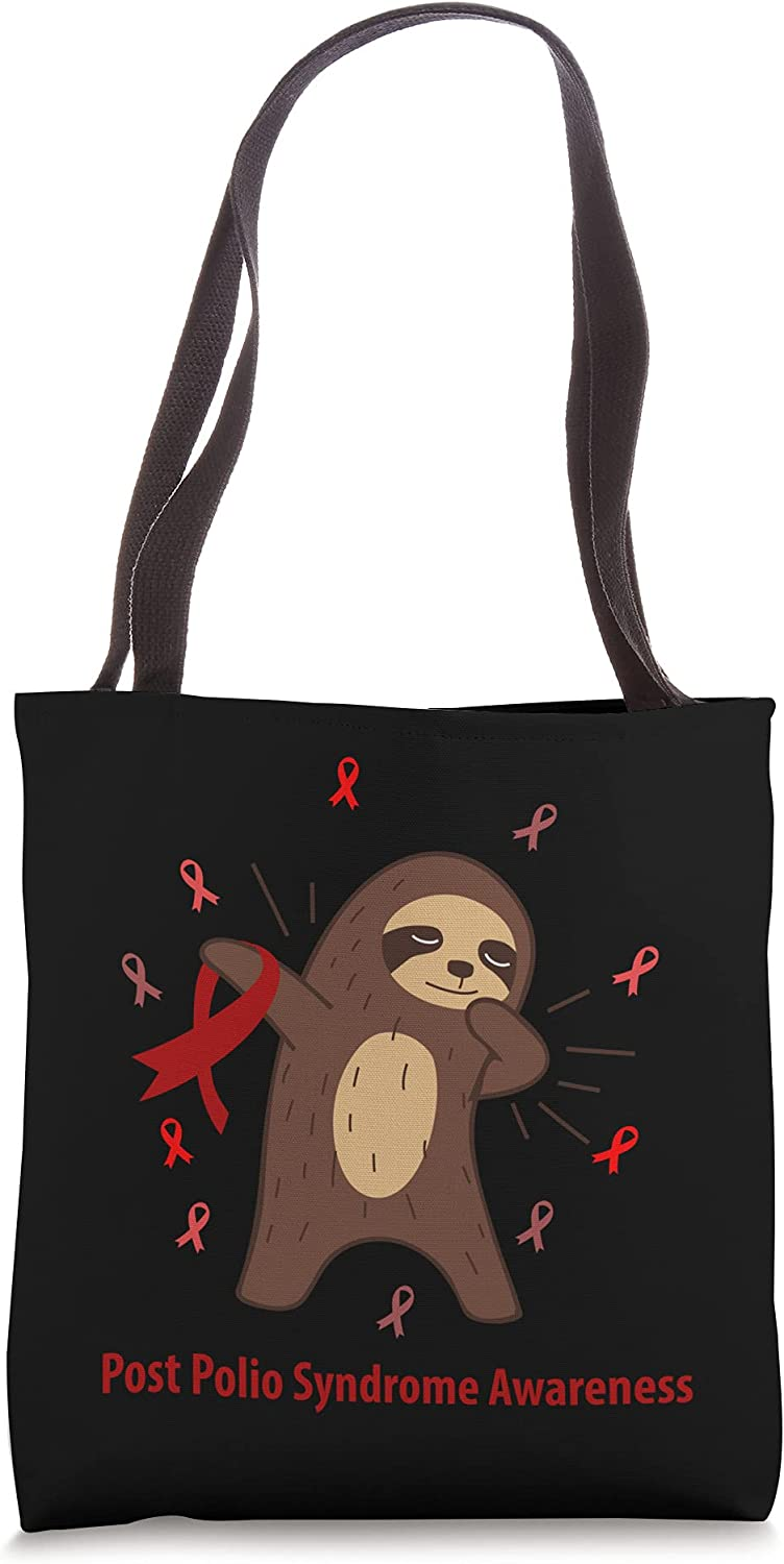 Post Polio Syndrome Awareness Post-Polio Related Sloth Max 65% OFF Tot Ribbo Dedication