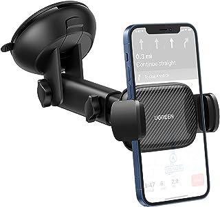 UGREEN Auto Telefoonhouder Zuignap Windscherm Voorruit Dashboard Car Holder Compatibel met iPhone 12 Pro Max SE 11 XS XR G...