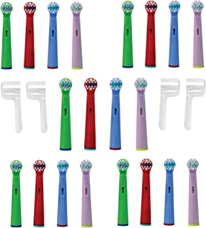 Bunny Lamb Kids Replacement Brush Heads Compatible with Oral-B - Count of 20