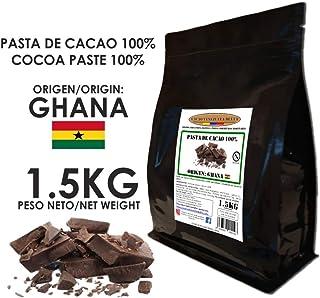 Cacao Venezuela Delta - Chocolate Negro Puro 100% · Origen Ghana (Pasta, Masa, Licor De Cacao 100%) · 1,5kg