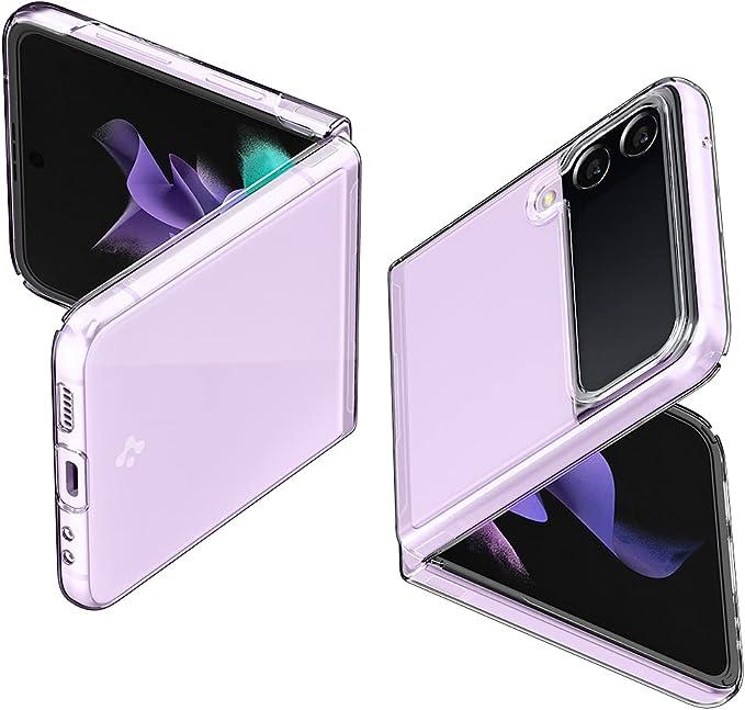 Spigen Air Skin Designed for Galaxy Z Flip 3 5G Case (2021) - Crystal Clear