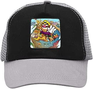 Nichildshoes hat Mesh Caps Hats for Men Women Unisex Print Fish Flag
