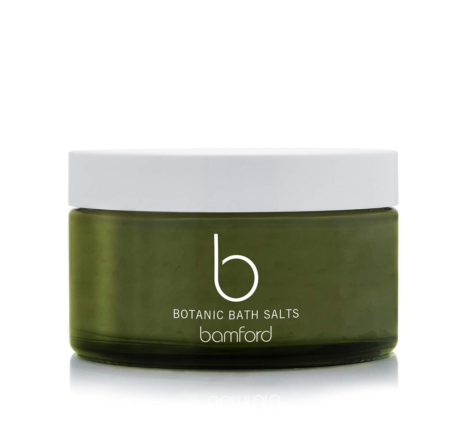 付添人キャンセル鈍いbamford(バンフォード) ボタニックバスソルト 入浴剤 250g