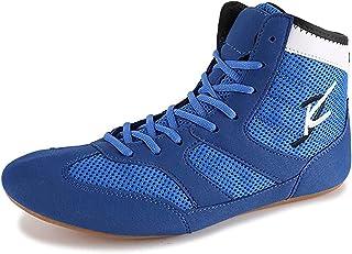 WJFGGXHK Boxing Shoes, Unisex Taekwondo Fitness Sneakers Anti-Skid Breathable Wrestling Shoes Boxing Shoes for Men Women K...
