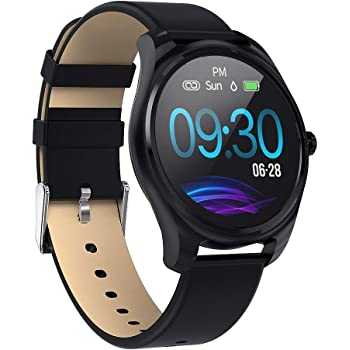 Mintsin Smart Watch for Android and iOS Phone Compatible iPhone Samsung, Fitness Tracker Watch with Swimming Waterproof, Heart Rate,Sleep and Blood Pressure Monitoring, Step Counter