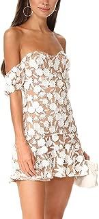 for love and lemons amelia strapless dress white