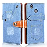 Manyip Case for Oukitel U7 Plus, Leather Stand Wallet Flip