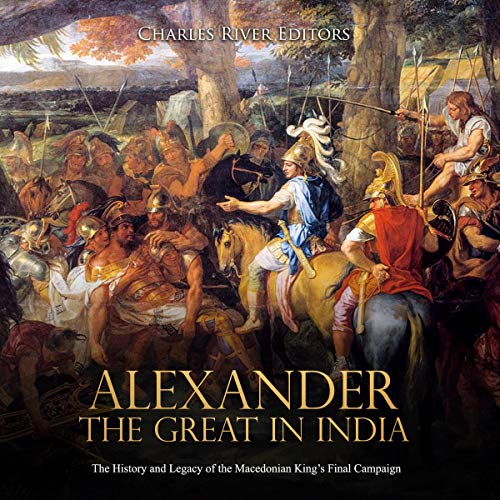 Alexander the Great in India audiobook cover art