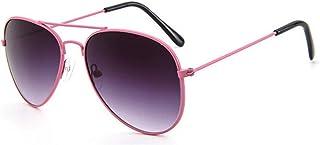 N/A - Nuevas Gafas para niños Gafas de Sol de aleación para niñas Moda Niños Niñas Bebé Niño Clásico Retro Gafas de Sol Lindas UV400 Regalo de cumpleaños