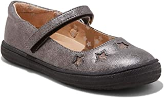 Girls' Olympia Mary Jane with Glitter (2, Pewter)