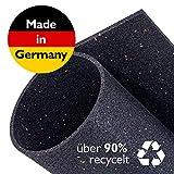Zuschneidbare Antivibrationsmatte für Waschmaschinen, Trockner u.v.m. | Größe 40cmx40cmx6mm |...
