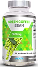 Green Coffee Bean 6000mg 90 Capsules Max Strength Natural Weight Loss Diet Capsules UK Manufactured Estimated Price : £ 12,97