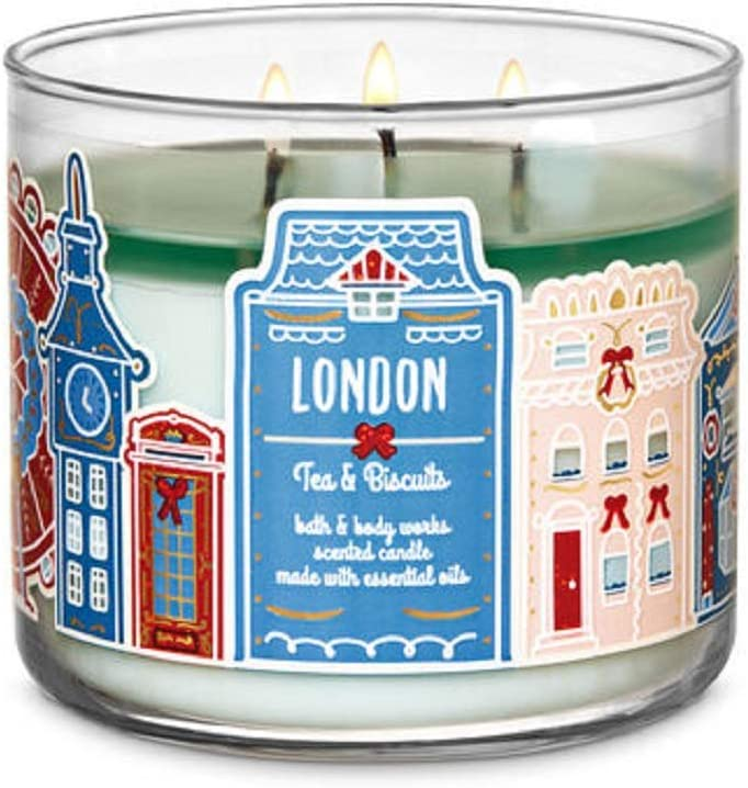 Bath Body Works Columbus Mall White Barn London Candl Biscuit Tea and 3 Popularity Wick