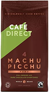 CAFE DIRECT - Fair Trade (Pack Of 6) - Fair Trade - Organic Machu Picchu Fairtrade - (227G)