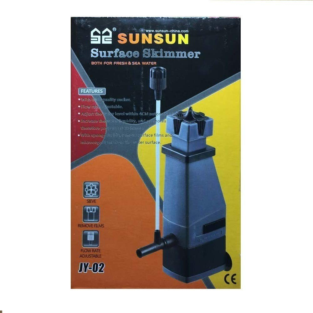 JY-02 aspirador de superficie Water Surface skimmer 3 W 300L/H SUNSUN Acuario: Amazon.es: Hogar