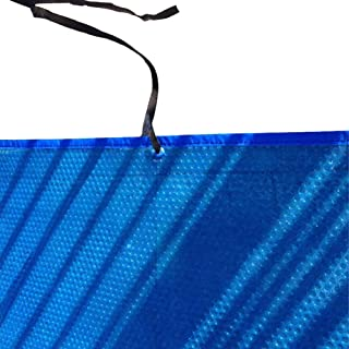 Erru PE Solar Swimming Pool Cover, 23.6-mil Solar Blanket for Hot Tubs and Rectangle Above-Ground Swimming Pools, Blue (Size : 5.5x2.5m(18x8.2ft))