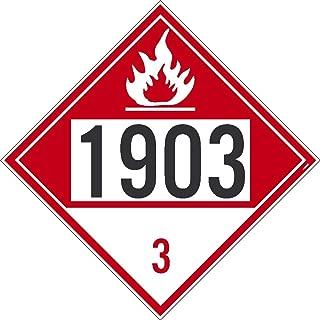 NMC DL178BPR 1824 8 Dot Placard Sign