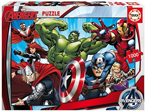 Educa - 16332 - Puzzle Classique - The Avengers - 1000 Pièces