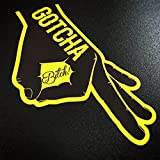 Gotcha You Looked Circle Punch Game - Sticker
