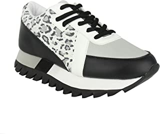 Not Rated Geri Mixed Media Fashion Sneaker