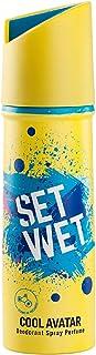 Set Wet Cool Avatar Deodorant & Body Spray Perfume For Men, 150 ml