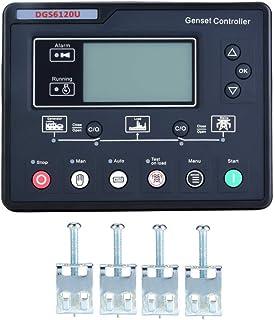 HYY-YY Controlador Grupo electrógeno, 6000rpm Modo de Prueba Manual electrónico Duradero Panel de Control Módulo Controlador de generador de presentación LCD for Generación de Energía