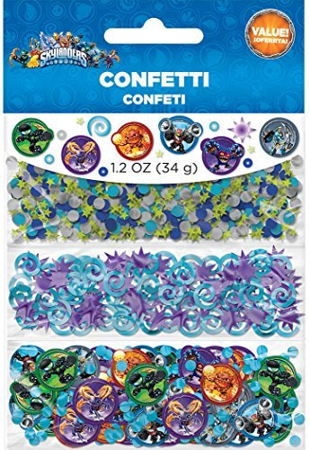 Amscan Skylanders Confetti Value Pack, Party Favor