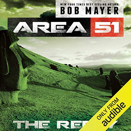 Area 51: The Reply audiobook cover art