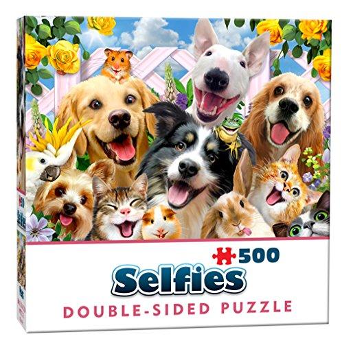 Cheatwell Games Puzzle de Doble Cara de 500 Piezas (28408)