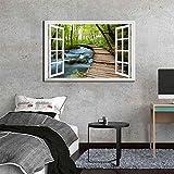 ganlanshu Pintura sin Marco Lienzo Moderno Arte de la Pared decoración de la Pared Pintura Paisaje Natural Imagen de la Pared para el Dormitorio decoración del hogar ZGQ4957 50X70cm